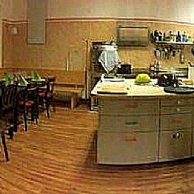 Küche und Gastzimmer