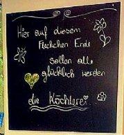 """Über die """"Köchlerei"""""""