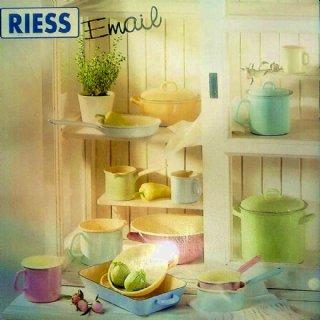 RIESS-Werbeplakat