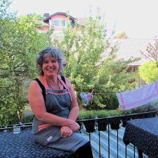 Köchlerei-Wirtin Sigrid Langeder freut sich auf viele Besucher.