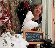 Die Köchlerei ist wegen Schneefall geöffnet!